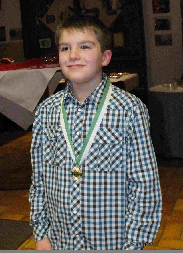 Jugendschützenkönig 2012: Nico Kowarsch