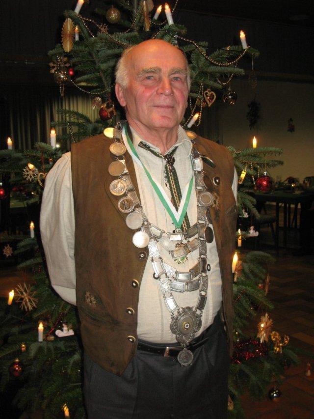 Schützenkönig 2009: Josef Kny