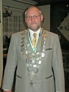 Schützenkönig 2008: Herbert Mende