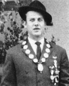 Schützenkönig 1959: Fritz Feick