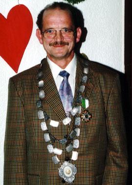Schützenkönig 2002: Horst Seul