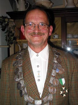 Schützenkönig 2004: Horst Seul