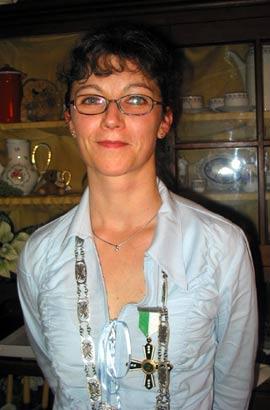 Schützenkönigin 2004: Annette Pfeifer
